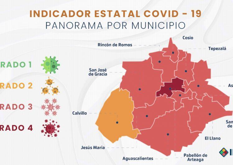 Implementará Aguascalientes semáforo local del Covid-19
