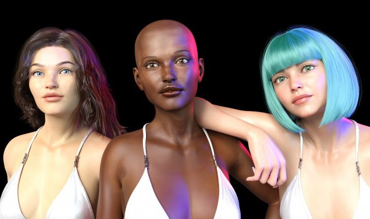 """""""He creado un escuadrón de supermodelos digitales"""""""