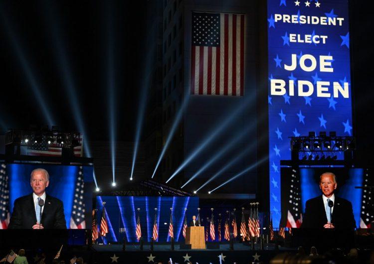 """""""Quiero ser un presidente que una, no que divida"""": Biden en su primer discurso como presidente electo"""