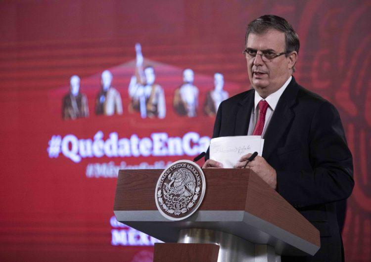 """Sería """"suicida"""" que México no investigue a Cienfuegos, asegura Ebrard y niega impunidad"""