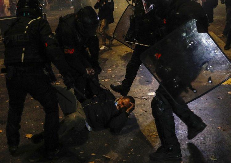 Choques entre manifestantes y policías en Francia por polémica ley de seguridad