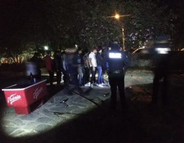 Revientan autoridades municipales fiesta Covid en salón de eventos de Aguascalientes