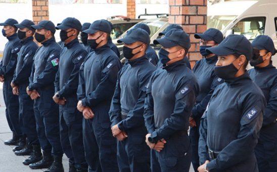 Se suman 60 nuevos elementos a la policía estatal de Aguascalientes