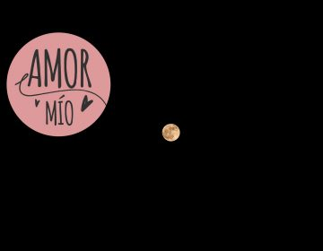Claroscuro de luna.