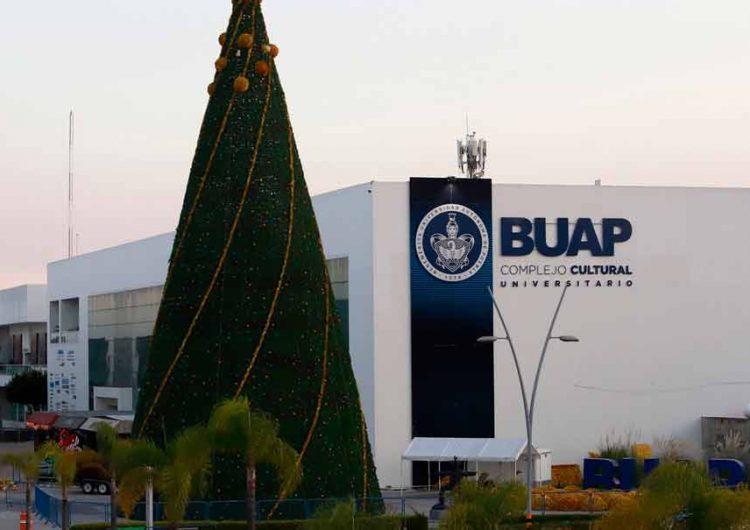 BUAP encenderá Árbol de Navidad de forma virtual