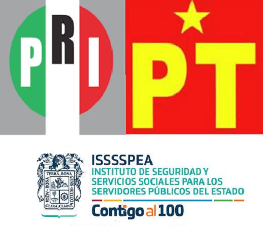 PRI, PT e ISSSSPEA, los más opacos en Aguascalientes