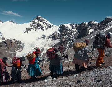 Cholitas, un documental indígena desde una gran montaña