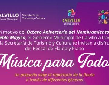 Celebra Calvillo su octavo aniversario como Pueblo Mágico