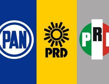 Alianza PAN-PRI-PRD en Aguascalientes podría definirse la próxima semana