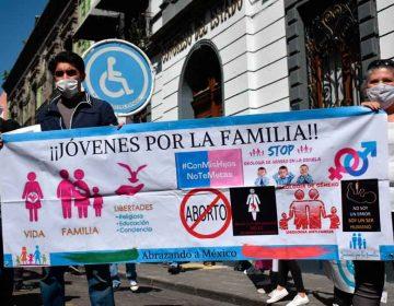 Protestas contra la legalización del aborto
