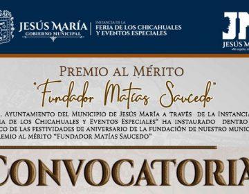 Convoca municipio de Jesús María a premio al mérito ciudadano