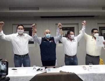 PRI, PAN, PRD, PBC y PES de BC forman alianza contra Morena en 2021