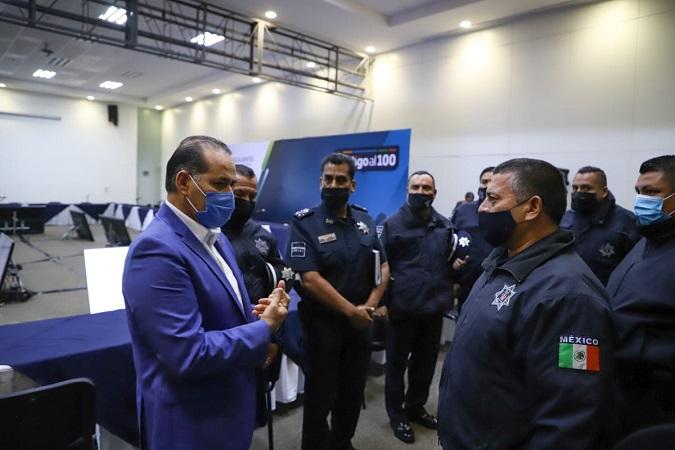 Corporaciones policíacas se sumarán a exhorto para acatar medidas sanitarias en los municipios