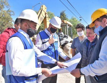 Inician obras de construcción de guarniciones y banquetas en Col. La Loma en Jesús María