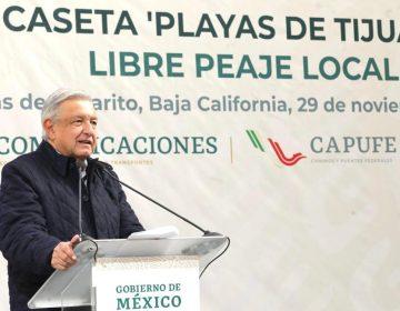Anuncian acuerdo que elimina el cobro de peaje a residentes del tramo carretero Tijuana-Playas de Rosarito
