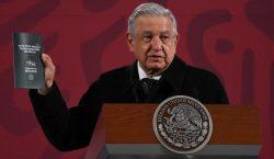 El presidente López Obrador presenta su Guía Ética para la…