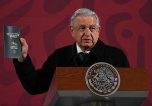 El presidente López Obrador presenta su Guía Ética para la transformación de México