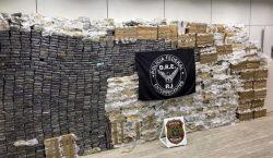 Confiscan en Brasil cantidad récord de 2.5 toneladas de cocaína