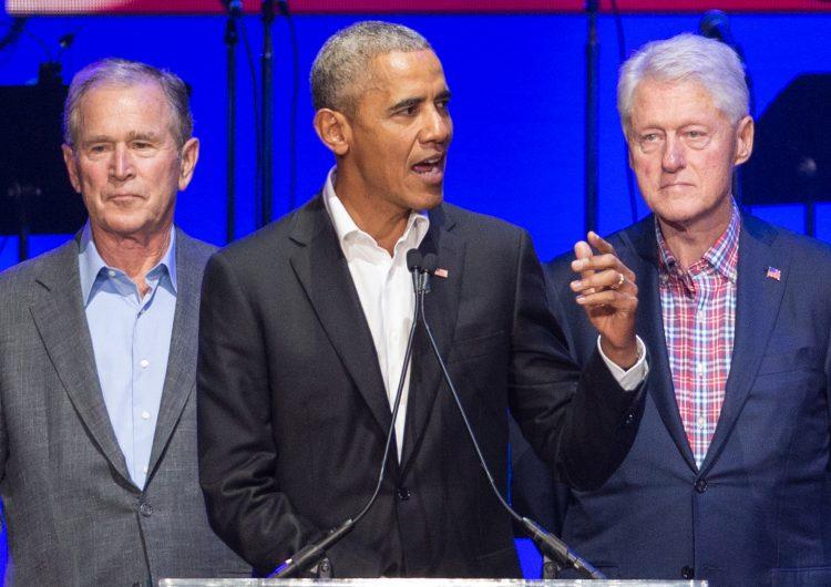 COVID-19: Obama, Bush y Clinton aceptan vacunarse públicamente para generar confianza