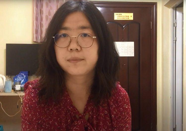 Condenan a 4 años de prisión a la periodista china que informó sobre el COVID-19 en Wuhan