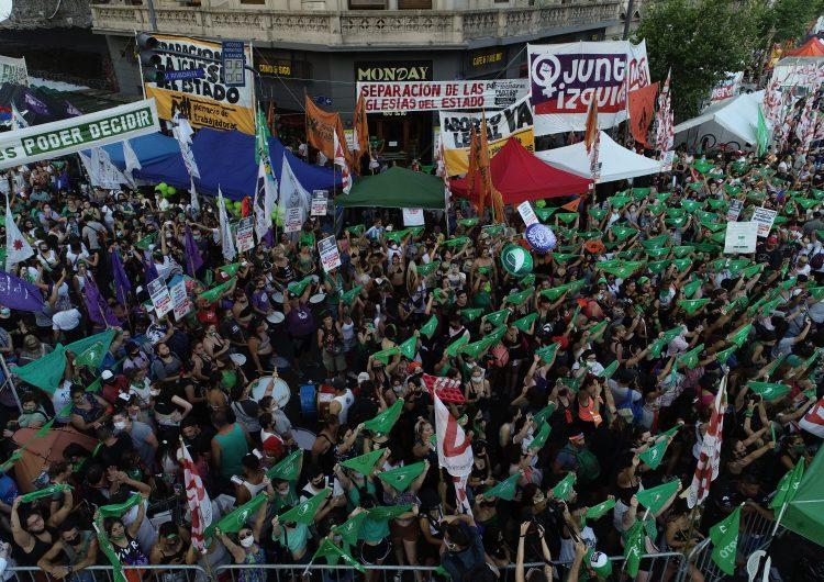 Aborto en Argentina: 'Estamos muy ansiosas, tenemos mucha confianza de que sea ley'