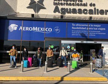 Parten enfermeros del IMSS Aguascalientes a Baja California para atender pacientes de Covid-19