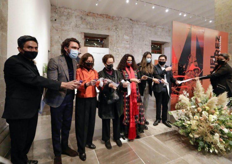 """Presenta el Senado la exposición """"Manuel Felguérez, Formas y Matices Secretos"""" en homenaje al artista zacatecano"""