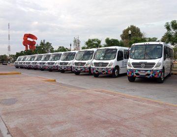 Otorgará gobierno apoyos de 34 mil pesos a concesionarios de camiones urbanos por efectos de la pandemia
