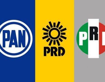 Alianza PAN-PRI-PRD en Aguascalientes, sólo en un distrito federal