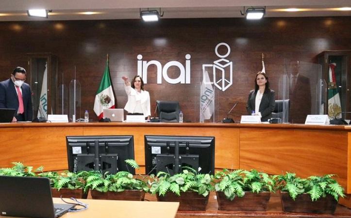 Asuma Blanca Lilia Ibarra Cadena la presidencia del INAI