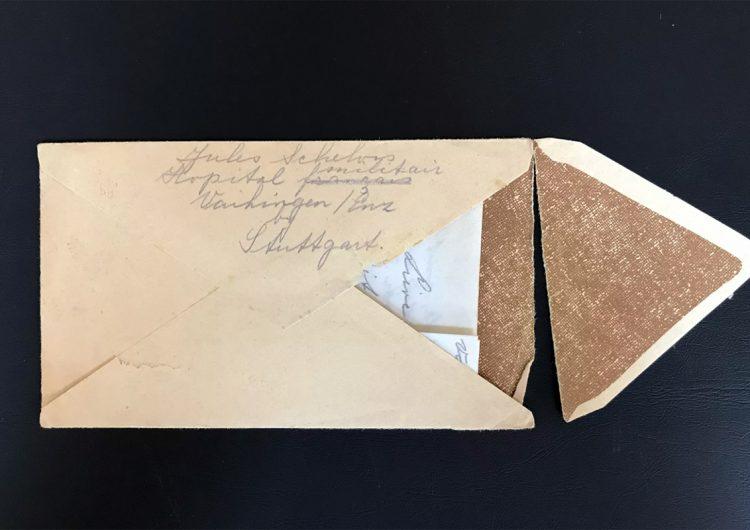 Conmovedora carta de sobreviviente del Holocausto llega a su destino 75 años después