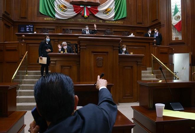 Impuesto al alumbrado público retrasa aprobación de leyes de ingresos municipales en el Congreso de Aguascalientes