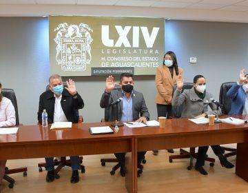 Se instala diputación permanente del Congreso de Aguascalientes