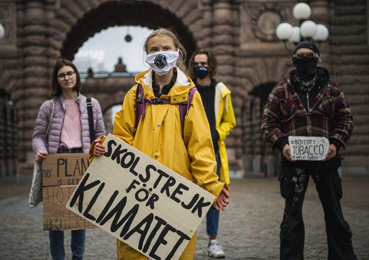 """A cinco años del acuerdo de París, Greta Thunberg critica las """"promesas vacías"""" sobre el clima"""