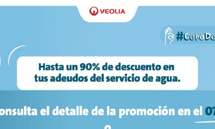 Anuncia Veolia Aguascalientes planes para apoyar a la economía familiar