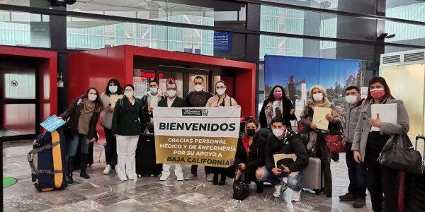 Llega a Tijuana personal médico de Jalisco y Nuevo León para apoyar al IMSS BC