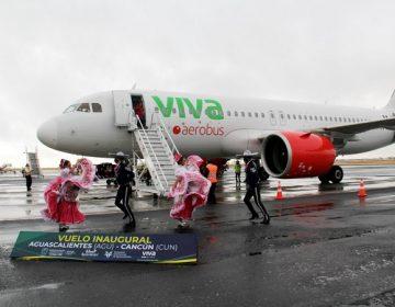 Inauguran nuevo vuelo Aguascalientes-Cancún de Viva Aerobus