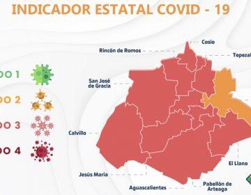 Después de un mes, Pabellón de Arteaga sale del color rojo en indicador Covid
