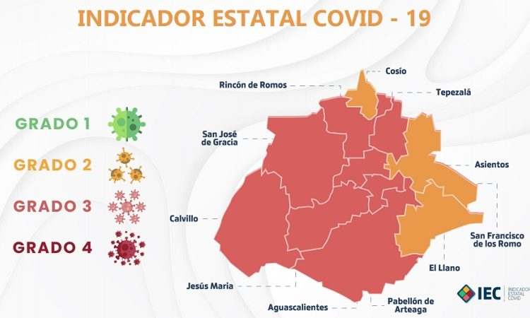 Por primera vez, tres municipios pasan al color amarillo en indicador Covid