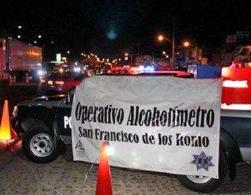 Alistan Operativo Alcoholímetro por temporada decembrina en Aguascalientes