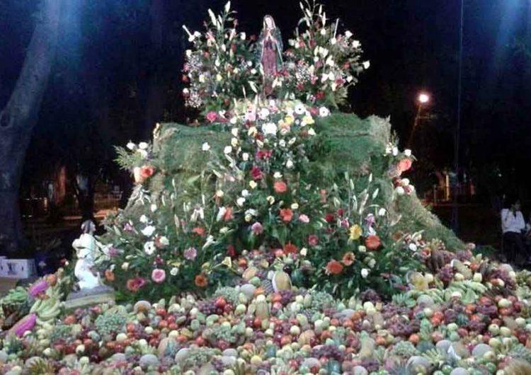 La Virgen de Guadalupe en Atlixco no tendrá frutero este año por covid