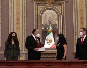 Recibe Congreso por escrito segundo informe de labores de Barbosa Huerta