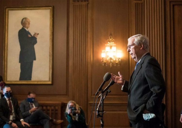 Senadores republicanos aún consideran cuestionar el triunfo de Joe Biden
