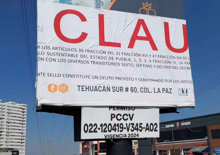 Supenderán propaganda política adelantada en Puebla