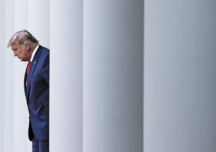 Cómo las cortes de Estados Unidos frustraron a Donald Trump