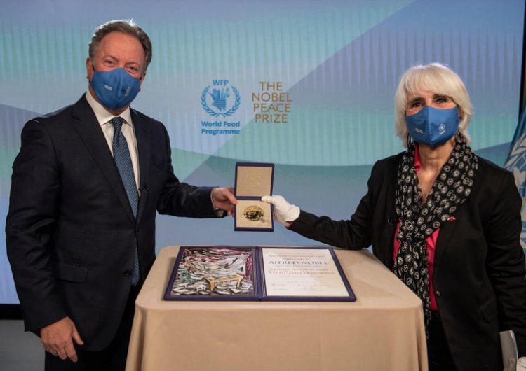 Al borde de la hambruna, 270 millones de personas por cambio climático y pandemia: ganador del Nobel de la Paz