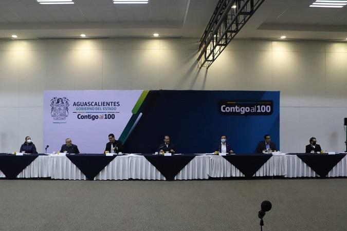 Se reúne gobernador con diputados locales para analizar Paquete Económico 2021