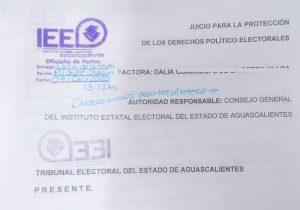 Recibe Tribunal Electoral impugnación a iniciativa ciudadana del FNF