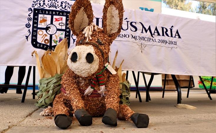 Premian a jardines de niños que participaron en concurso de villancicos en Jesús María