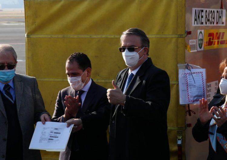 Primer lote de vacunas en México tiene el objetivo de calibrar la cadena de frío